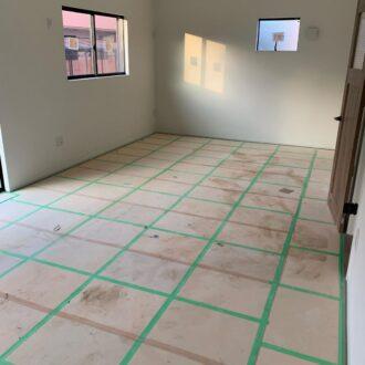 新築クリーニング・空室清掃 網戸張替え致しました!
