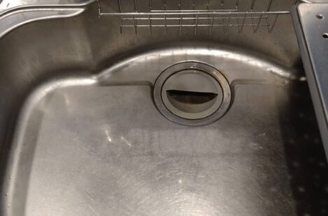 キッチンシンク磨きコーティング